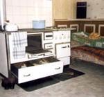Ofen in der Küche