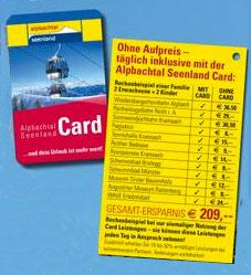 Alpachtal Seenland Card